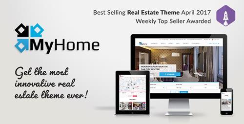 ThemeForest - MyHome v1.0.6 - Real Estate WordPress Theme - 19508653