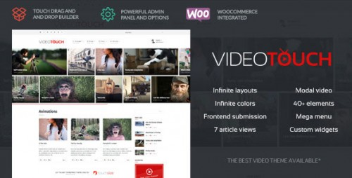 Nulled VideoTouch v1.8.3 - Themeforest Video WordPress Theme