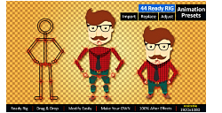 VideoHive: Ready Rig for Your Character (AE-Project)