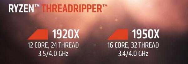 AMD Ryzen Threadripper 1920X производительнее и дешевле топового Core i9-7900X