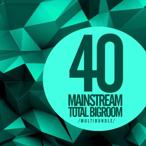 40 Mainstream Total Bigroom Multibundle (2017)