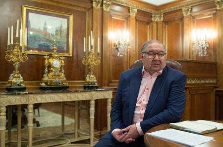 Алишер Усманов захотел выкупить контрольный пакет акций футбольного клуба