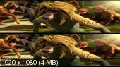 Эволюция 3D / Pourquoi j'ai pas mangé mon père 3D Вертикальная анаморфная стереопара