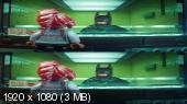 Без черных полос (На весь экран) Лего Фильм: Бэтмен 3D / The LEGO Batman Movie 3D (BY_AMSTAFF)  Вертикальная анаморфная стереопара