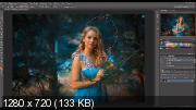 Арт обработка фотографии в режиме speed video (2017)