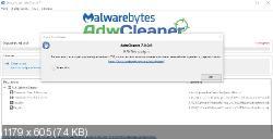 AdwCleaner 7.0.0.0 - устранение нежелательных панелей из веб-браузеров
