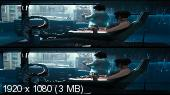 Призрак в доспехах 3D / Ghost in the Shell 3D (BY_AMSTAFF) ВЕРТИКАЛЬНАЯ АНАМОРФНАЯ СТЕРЕОПАРА