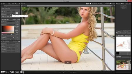 Эффект загорелой кожи в фотошопе (2017) HDRip
