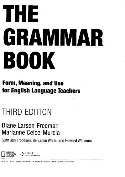 The Grammar Book, 3rd Edition